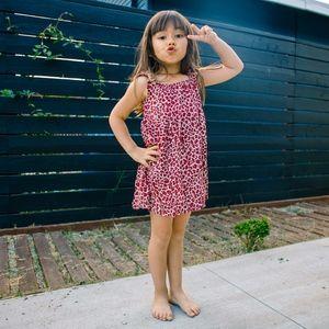 Other - Indonesian leopard print girls dress
